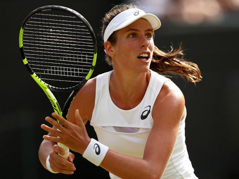 Johanna Konta won't let Wimbledon dream get in her way