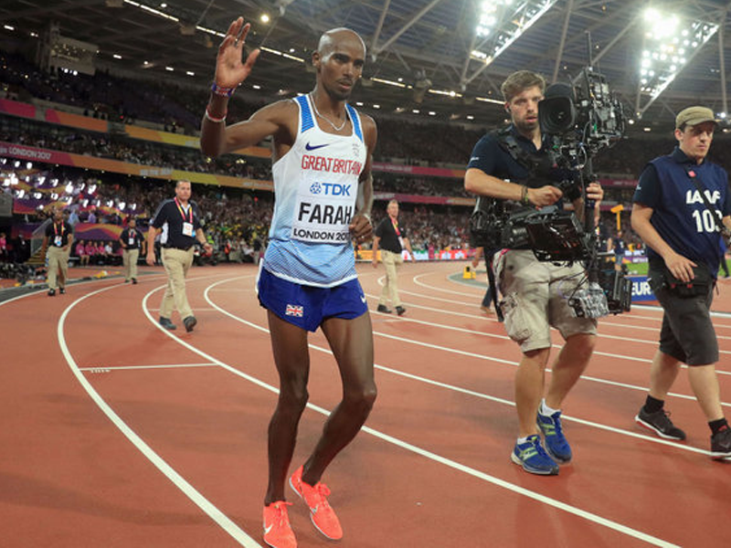 Edris beats Farah to 5000m world title