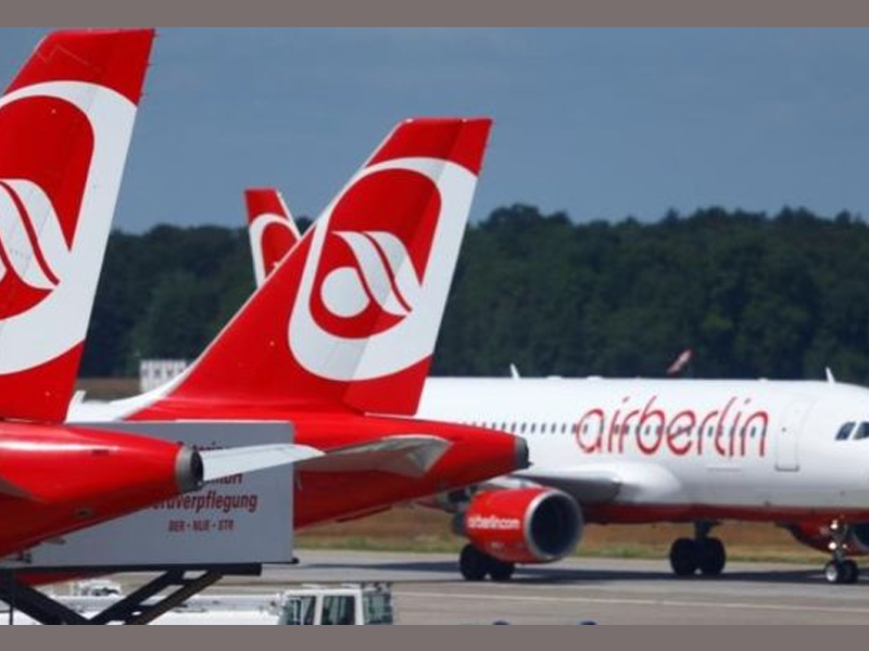 Air Berlin filing for bankruptcy