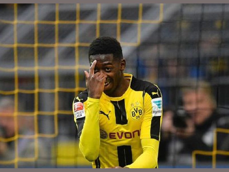 Barcelona agree £90 million deal with Borussia Dortmund to sign Ousmane Dembele
