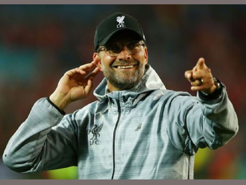 Klopp: Liverpool actually finished third last season…