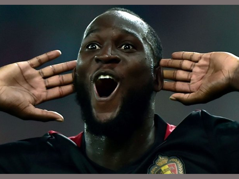 Romelu Lukaku designs Belgian national mascot in brilliant video