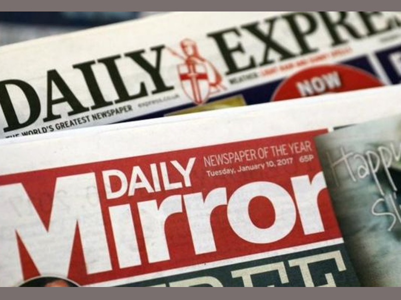 Daily Mirror owner in talks to buy Express in United Kingdom newspaper shake-up