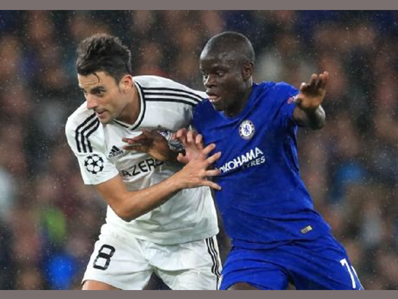 Kante delighted to be reunited with Drinkwater at Chelsea
