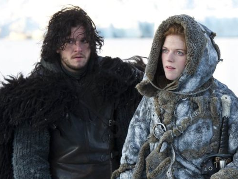 Game of Thrones stars Kit Harington and Rose Leslie to Wednesday