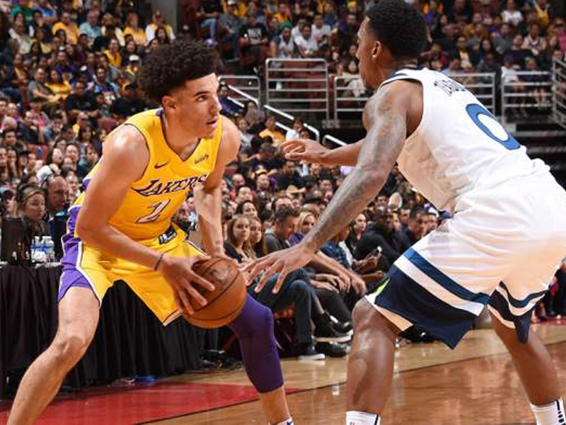 Lonzo Ball will wear Nike Kobe's for Monday night preseason game
