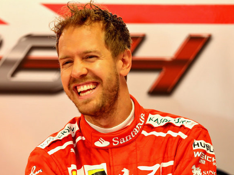 Vettel lays down early marker for Japan Formula One GP