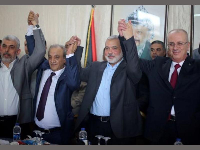 Hamas, Fatah reach Palestinian reconciliation deal
