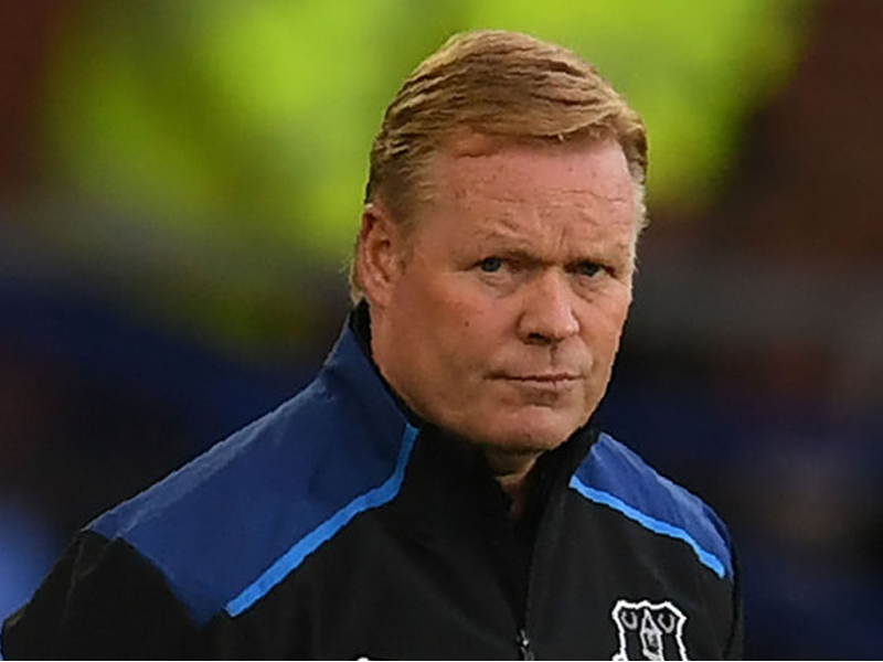 Koeman insists unlucky Everton showed