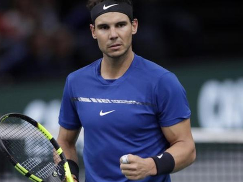 Nadal allays injury concerns, says fit for ATP Finals