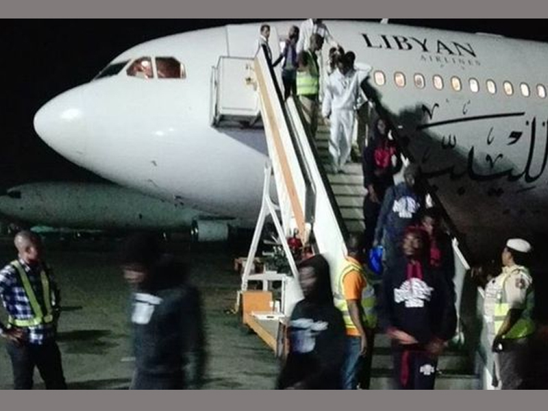 SLAVERY: 239 Nigerian migrants return from Libya