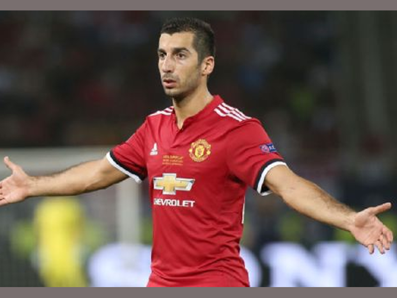 Mkhitaryan's fate in Man United still vague as several clubs show interest