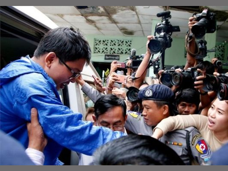 Myanmar Court Extends the Detention of Two Reuters Journalists