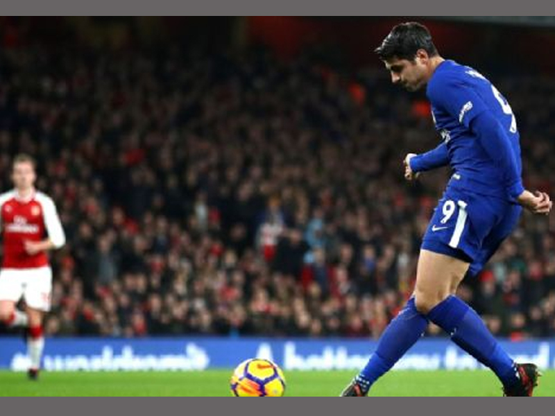 Eden Hazard blames Alvaro Morata misses for Chelsea's draw against Arsenal
