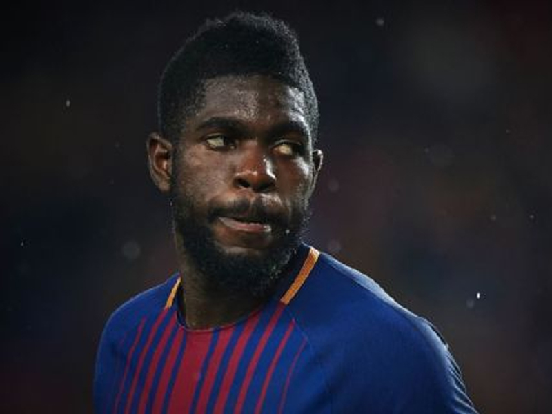 Umtiti meets with City