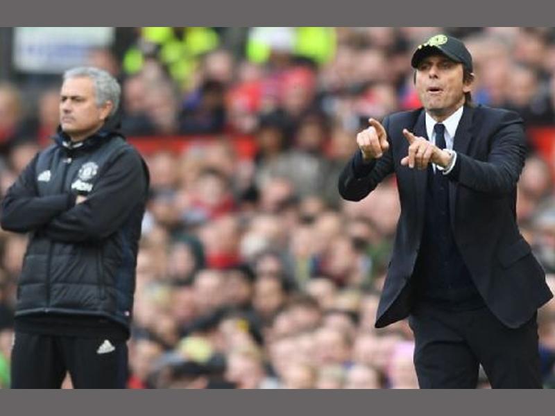 Chelsea boss Conte calls Jose Mourinho 'a little man'