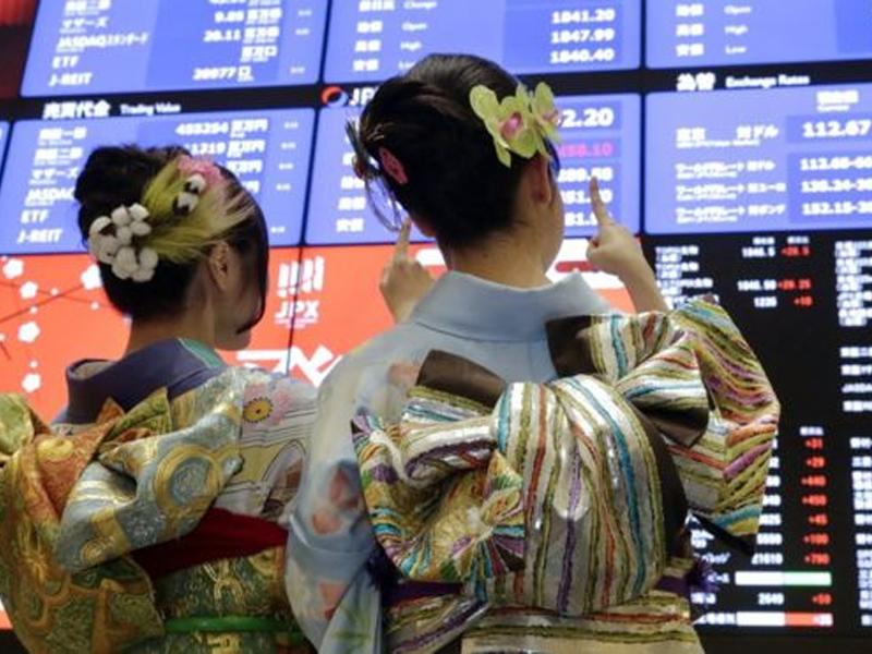 Asian shares method 2007 peak, greenback weak on comfortable…
