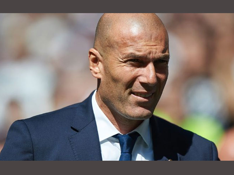 Real Madrid coach Zinedine Zidane won't rule out selling in January