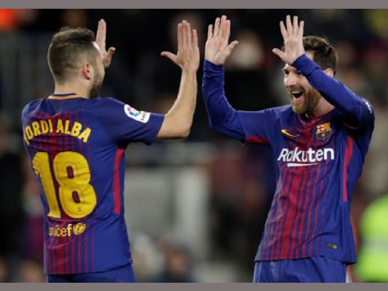 Five-star Barcelona cruise through in Copa del Rey