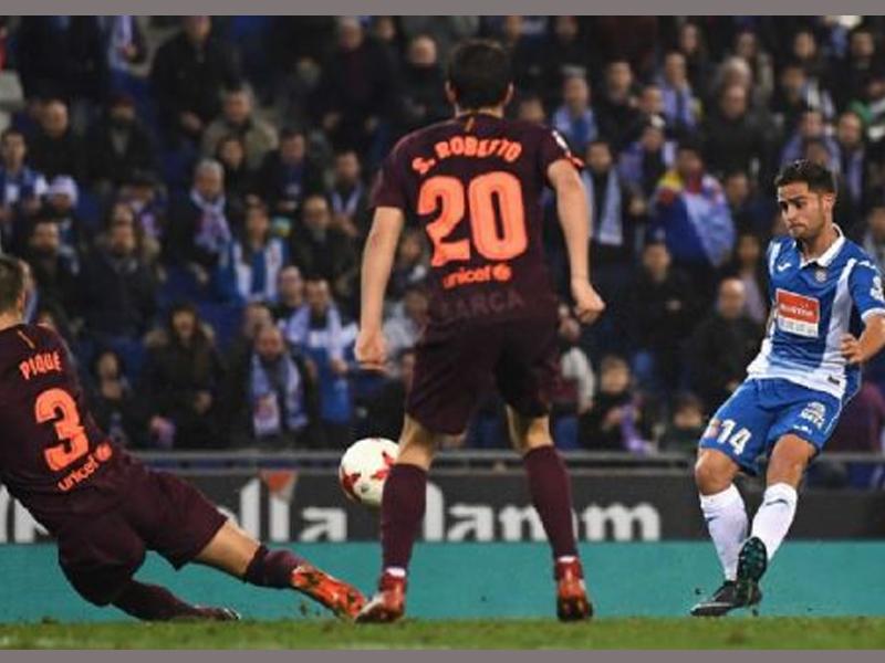 Espanyol 1 Barcelona 0: Melendo ends unbeaten run