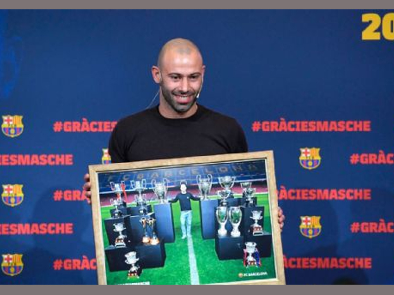 Barcelona Confirm Agreement With Hebei China Fortune for Javier Mascherano Transfer