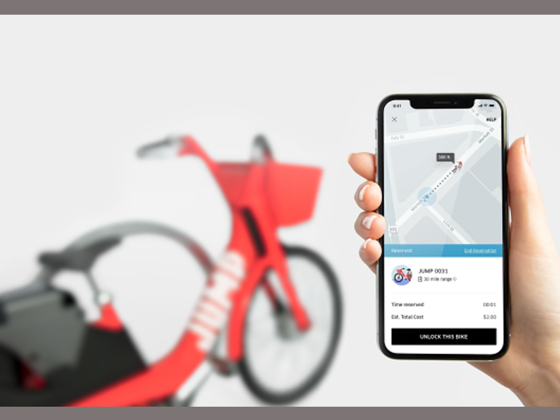 Uber Takes a Bet on Dockless Bike Share