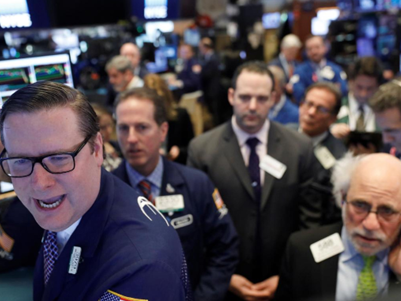 After A Day of Wild Market Swings, Dow Closes 567 Points Higher