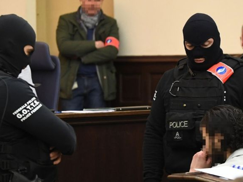 IS attacks suspect Abdeslam defies court in first appearance