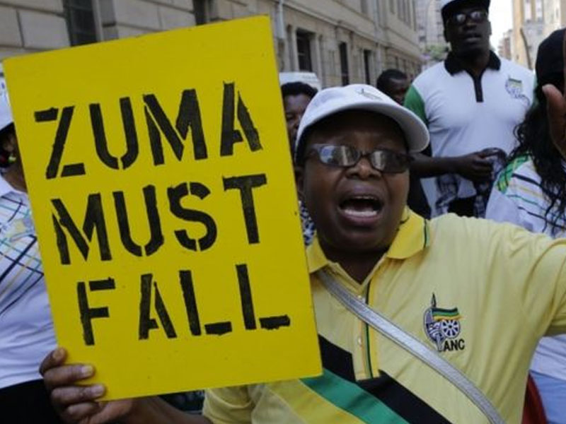 Jacob Zuma will step aside in days, vows ANC chief Cyril Ramaphosa