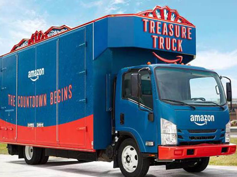 Amazon reportedly launching a delivery service for businesses; FedEx, UPS shares slide