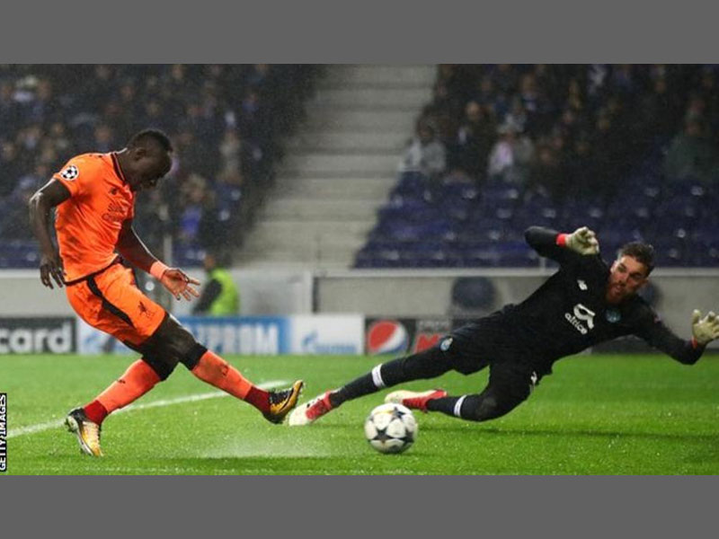 Sadio Mane nets hat trick in Liverpool's runaway win against Porto