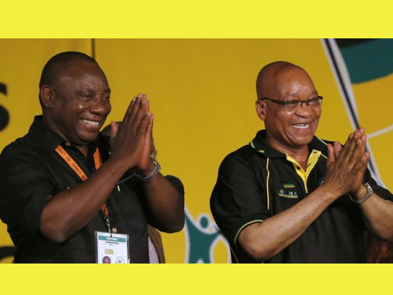 Jacob Zuma's parting shot splits party that crowned him