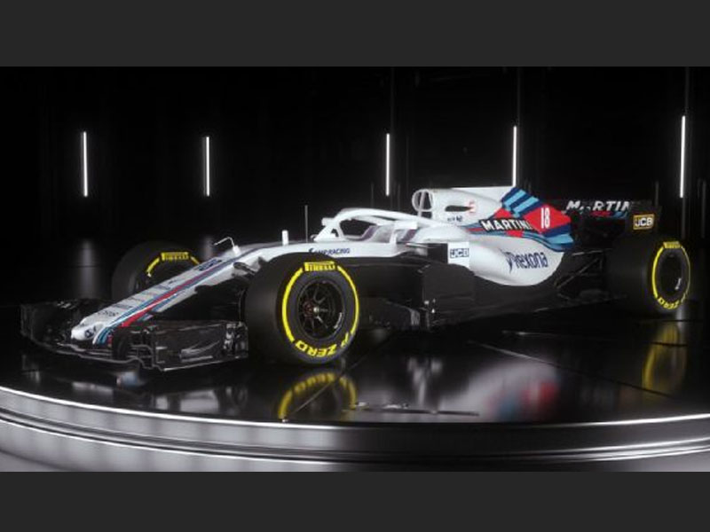 Williams reveals its 2018 Formula 1 auto