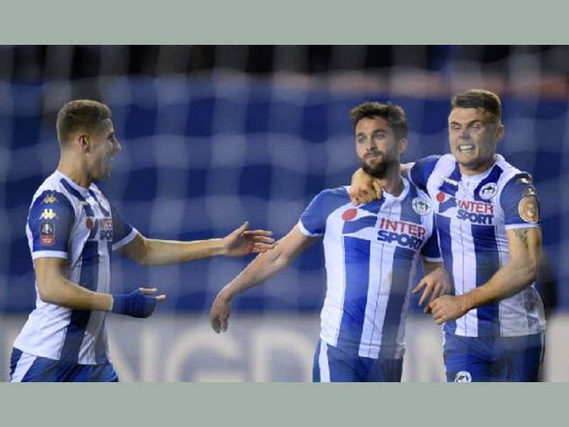 Leeds United fans want Wigan Athletic's Will Grigg after FA Cup heroics