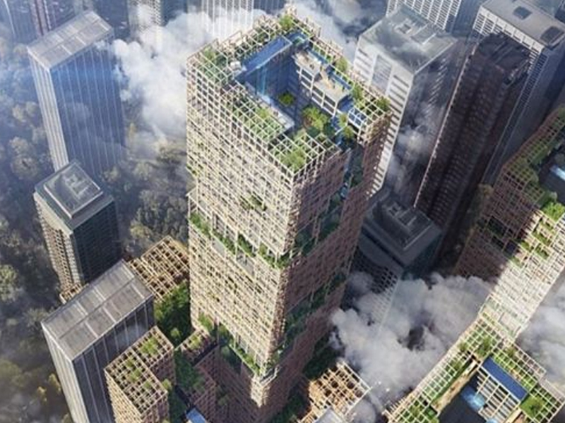 World's tallest wooden skyscraper to be built in Tokyo