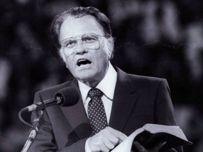 Here's how you can leave a message for Billy Graham's family