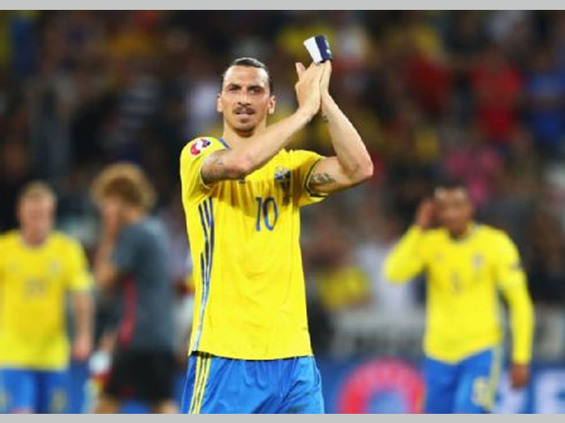 Zlatan Ibrahimovic hints at Sweden return for 2018 World Cup