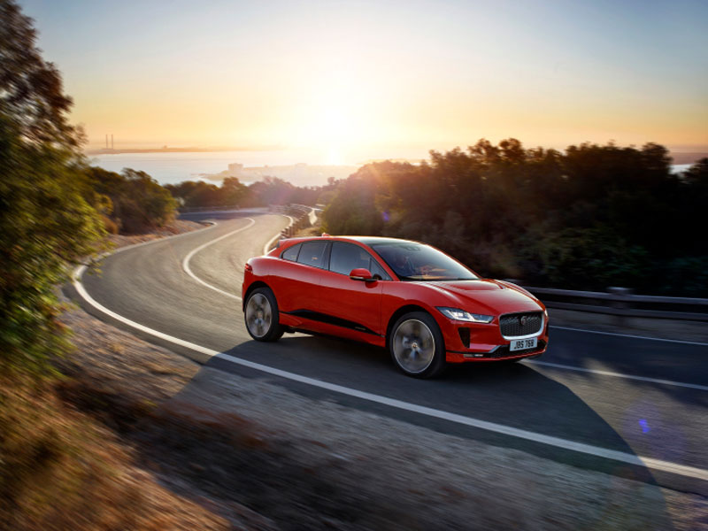 Jaguar I-Pace 'electric SUV' unveiled ahead of its public debut