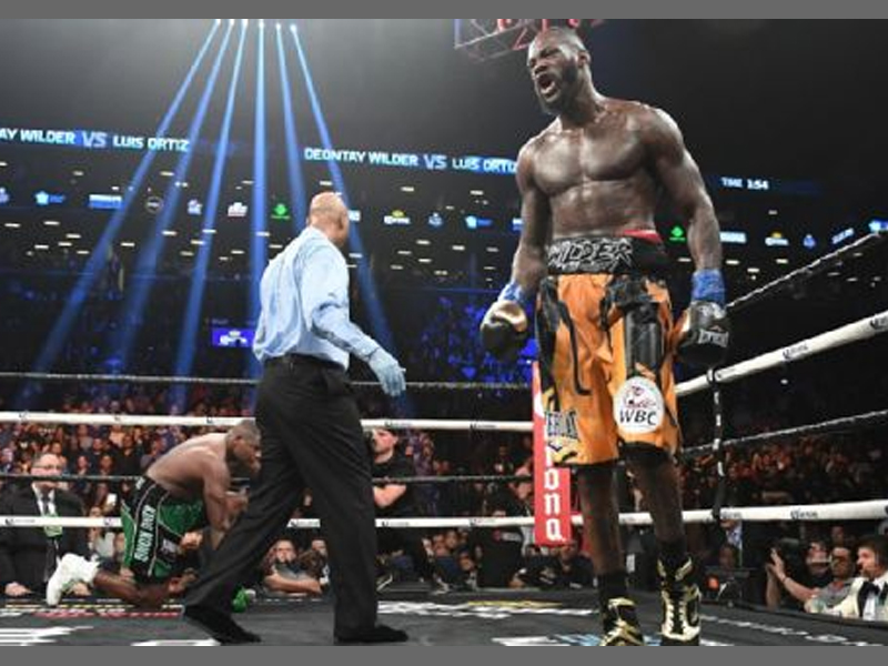 Deontay Wilder Slams Anthony Joshua Promoter Eddie Hearn Before Luis Ortiz Bout