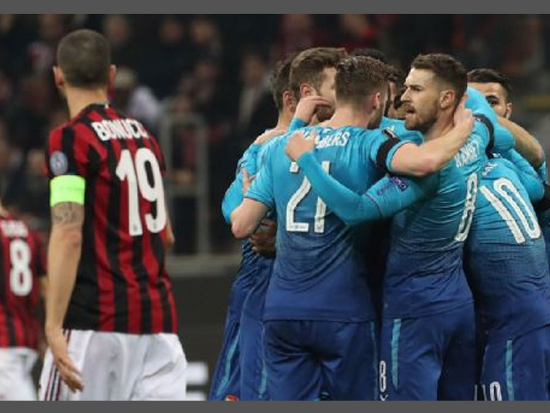Are Arsenal going to try and 'park the bus' against in-form Milan?