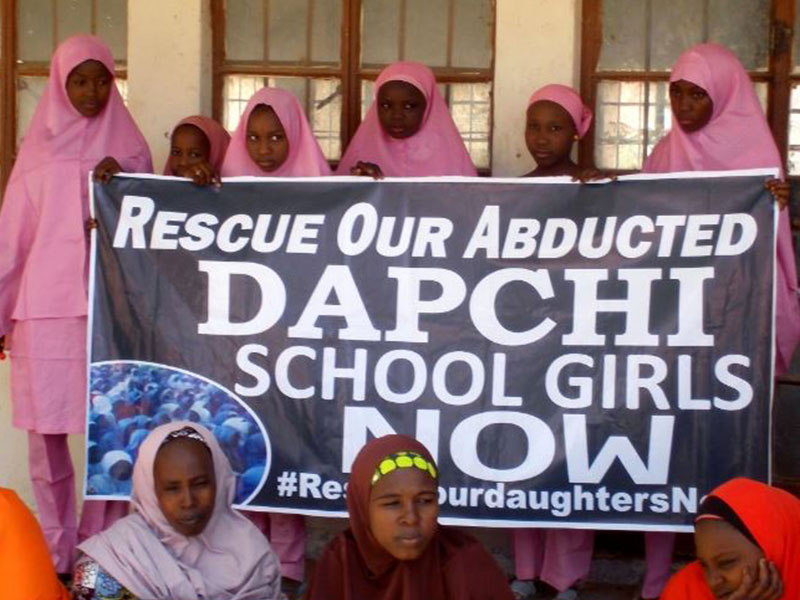 Buhari Visits Scene Of #DapchiGirls Abduction