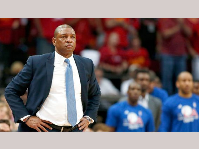 Doc Rivers calls officiating in Rockets game 'a complete joke'
