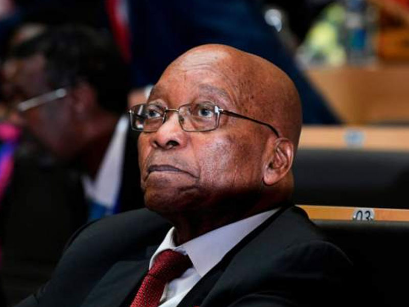 South Africa will cover Zuma's legal fees