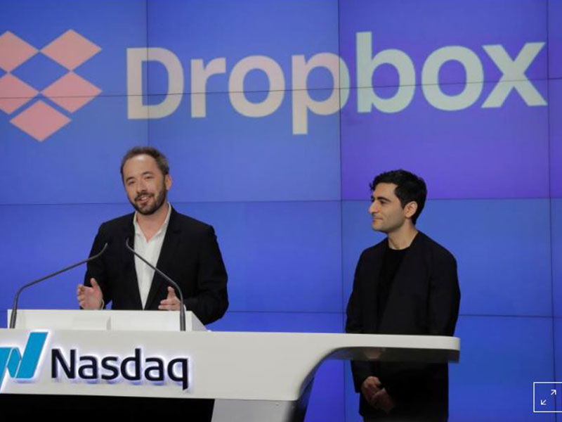 Dropbox prices shares at US$21 for Friday market debut