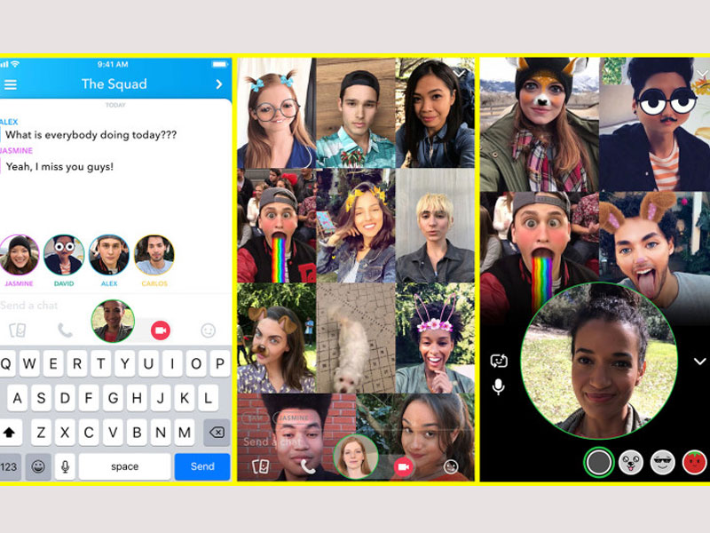 Snap adds Group Video Calls to Snapchat