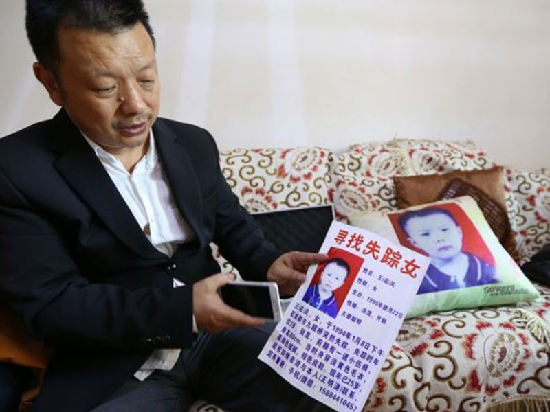 Chinese man traces missing daughter after 24 years