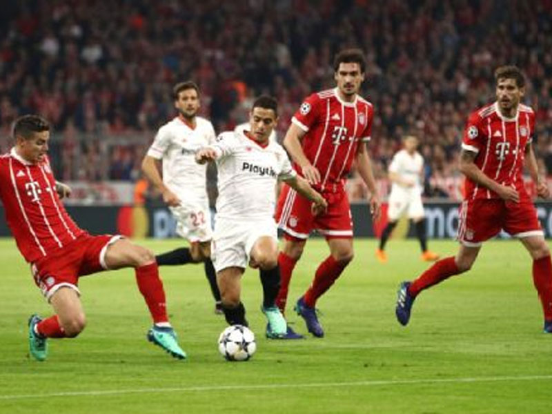Bayern hold Sevilla to scoreless draw to advance in Champions League