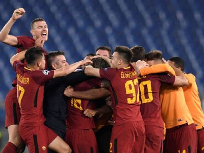 Jurgen Klopp reacts to Roma's incredible Champions League turnaround against Barcelona