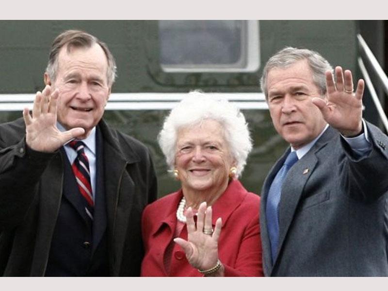 Barbara Bush a titan in American life