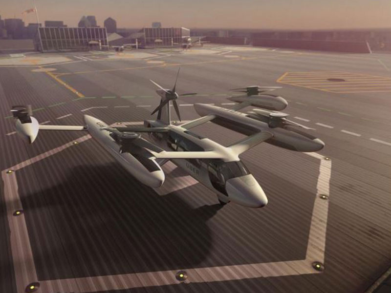 Uber, NASA Partner to Explore 'Urban Air Mobility'